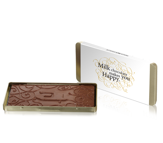 Chocolate goldbox bar milk organic