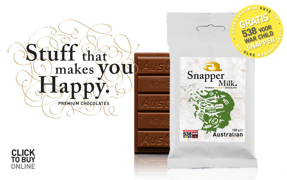 home chocolate Gratis War Child Snapper